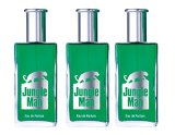 Jungle Man Männer, Eau de Parfum, 3er Pack (3 x 50 ml) 150ml